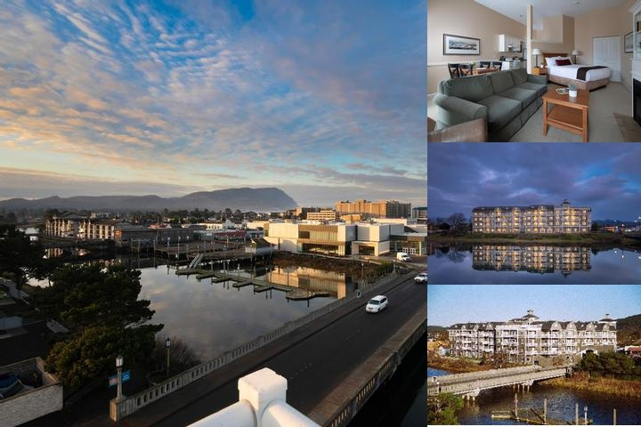 Rivertide Suites Hotel photo collage