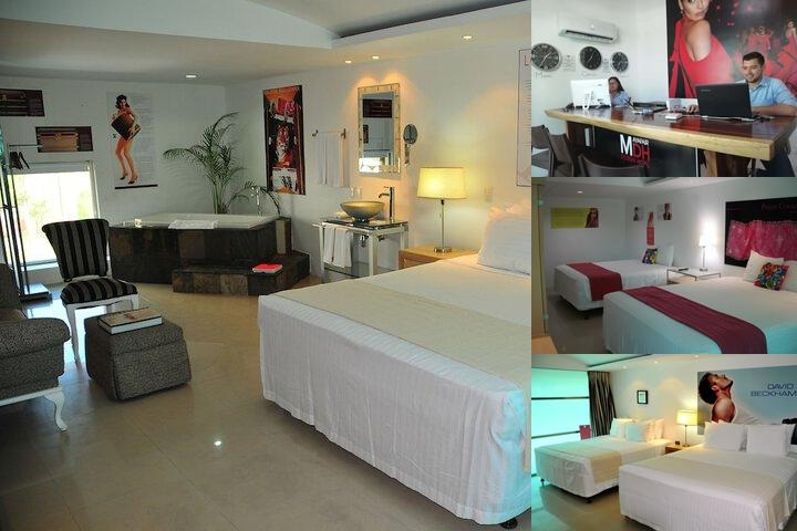 Mayafair Design Hotel photo collage