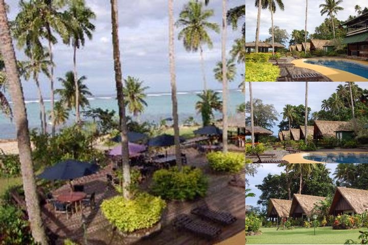 Crusoes Retreat Fiji photo collage