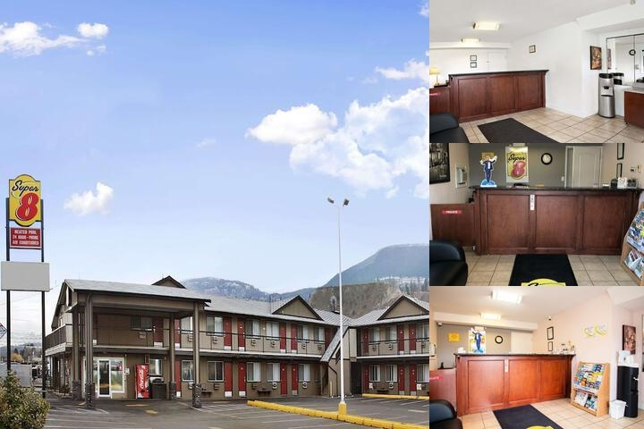 Super 8 East Kamloops photo collage