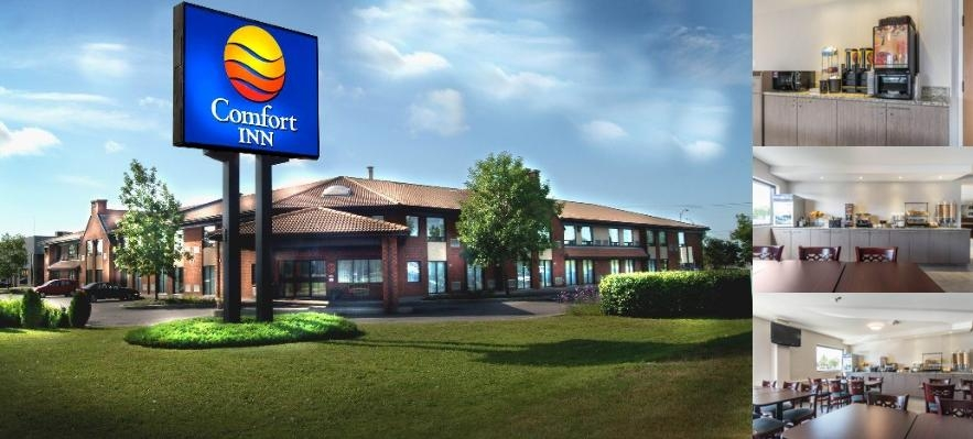 Comfort Inn Trois Rivieres photo collage