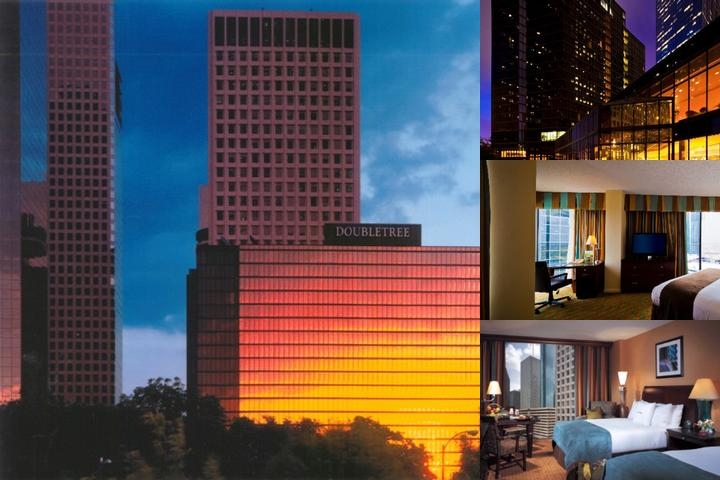 Doubletree Houston Downtown photo collage