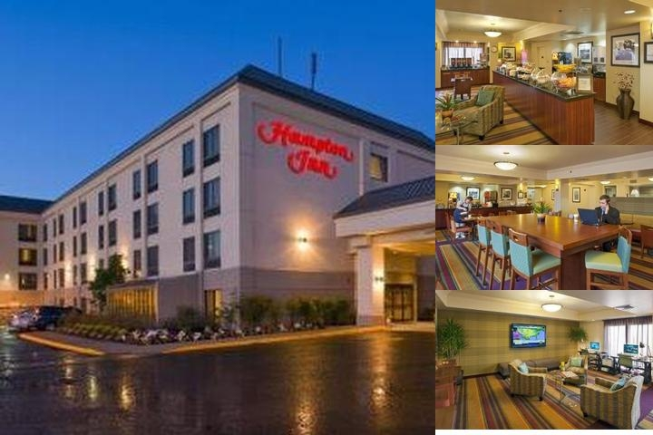 Hampton Inn Portland Airport photo collage