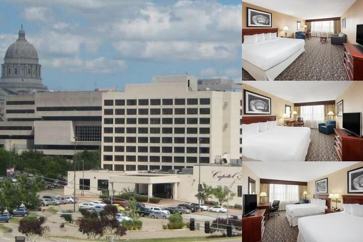 Capitol Plaza Hotel Jefferson City photo collage