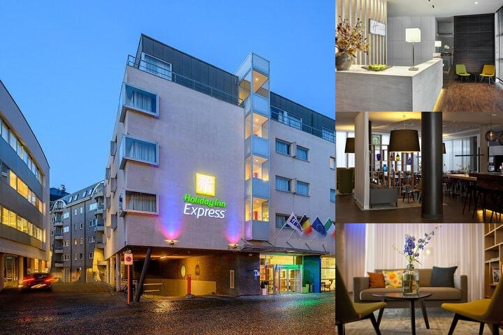 Holiday Inn Express Mechelen City Centre photo collage