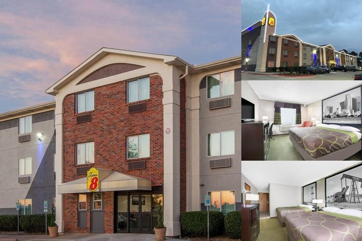Super 8 Hotel photo collage