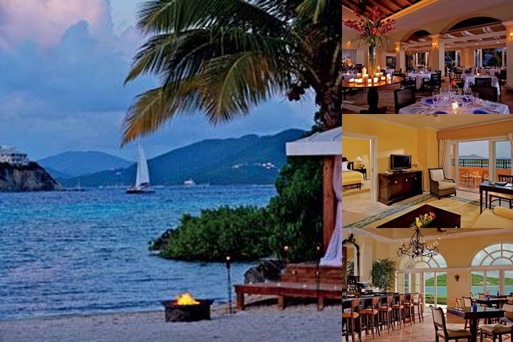 The Ritz Carlton St. Thomas photo collage