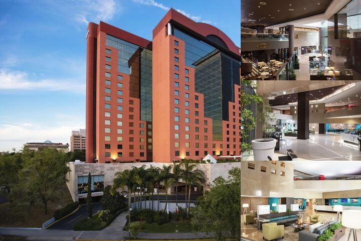 Hilton Guadalajara photo collage