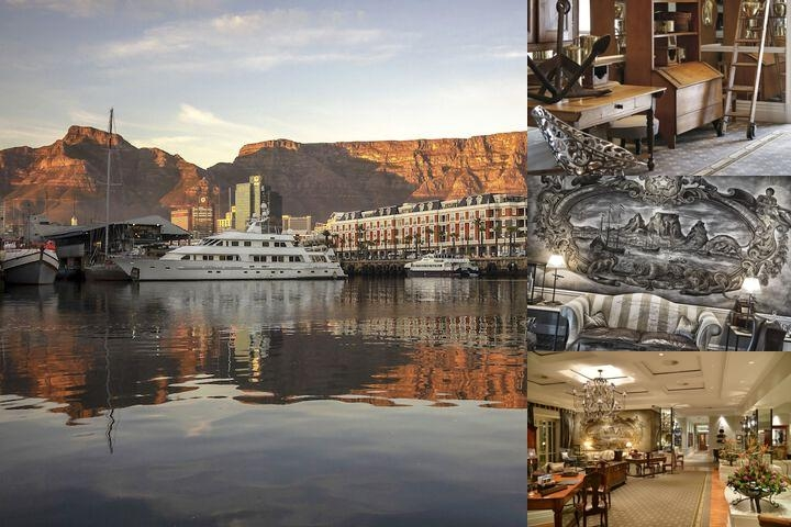 Cape Grace Hotel photo collage