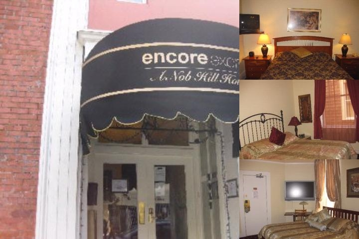 Encore Express Hotel photo collage