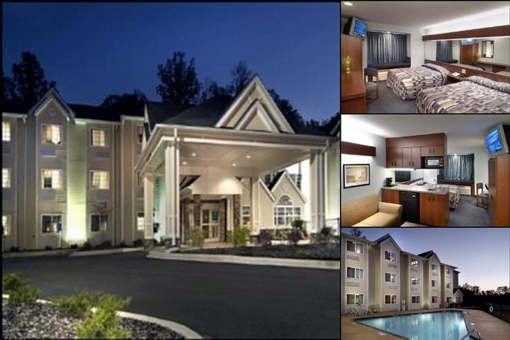 Microtel Inn & Suites Gardendale Al photo collage