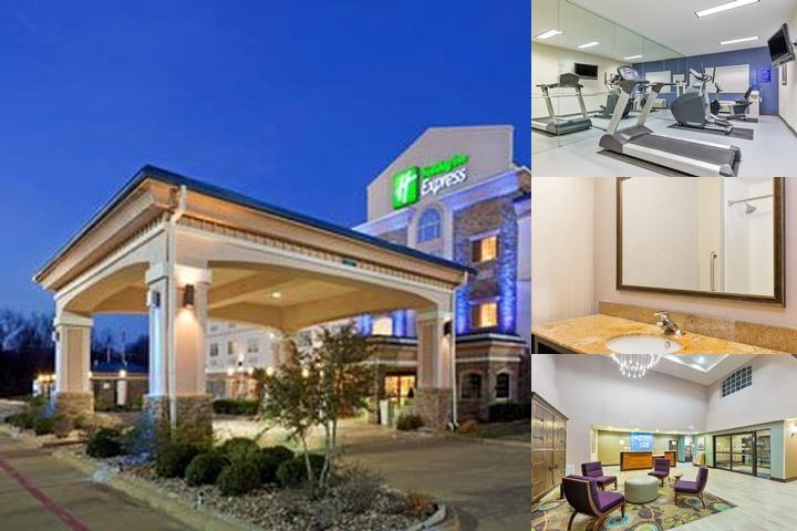 Holiday Inn Express Palestine photo collage