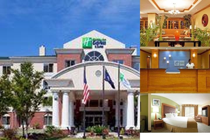 Holiday Inn Express & Suites Elms Center photo collage