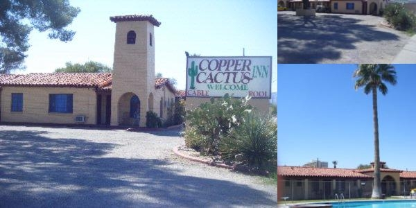 Copper Cactus Inn photo collage