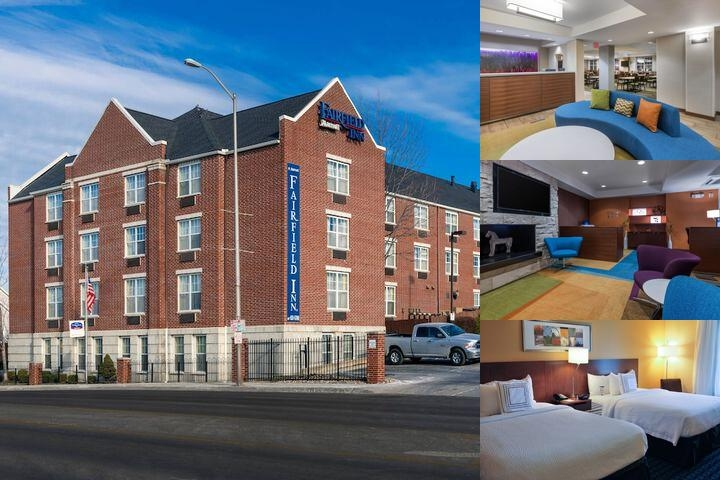 Fairfield Inn by Marriott Kansas City Union Hill photo collage