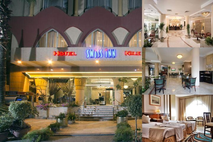 Swiss Inn Nile Hotel photo collage