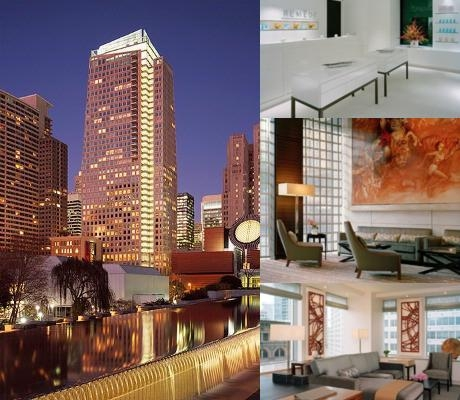 St. Regis San Francisco photo collage