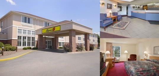 Super 8 Motel Menomonie photo collage