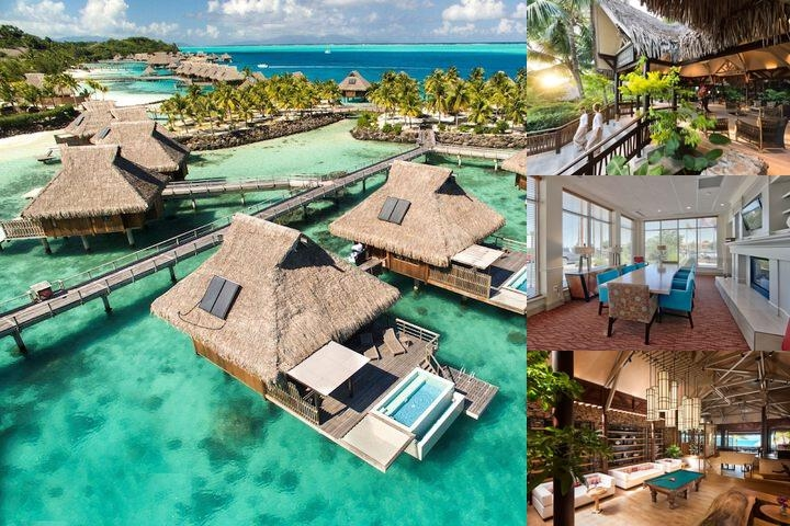 Hilton Bora Bora Nui Resort photo collage
