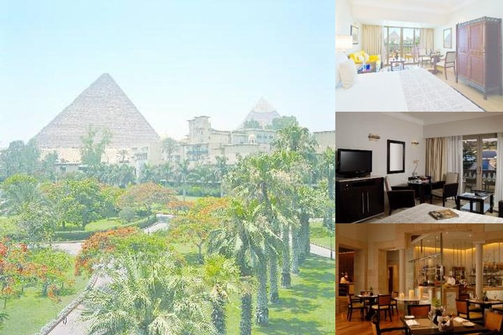 Mena House Oberoi Cairo photo collage