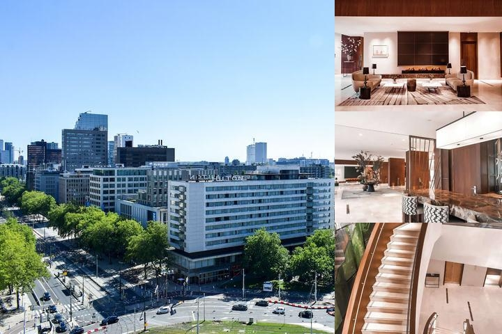 Hilton Rotterdam photo collage