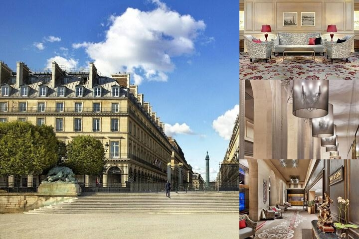 The Westin Paris Vendôme photo collage