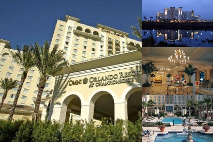Omni Orlando Resort at Championsgate photo collage