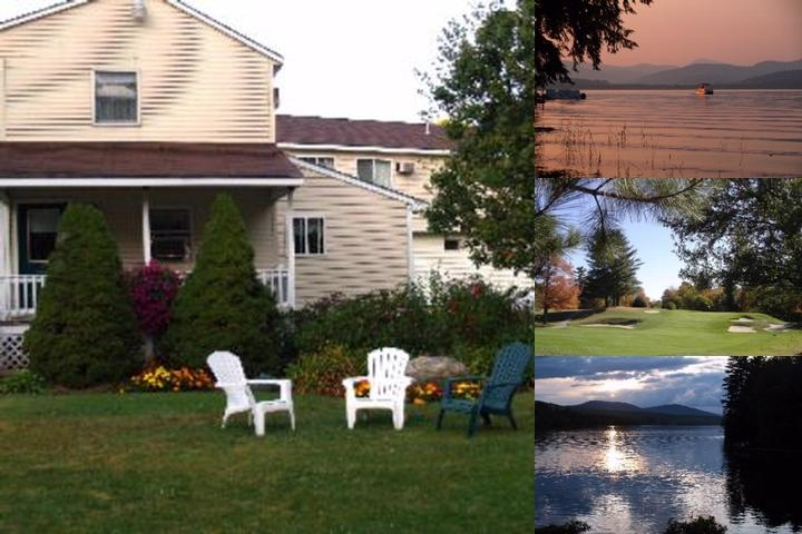 Wilson Lake Inn photo collage