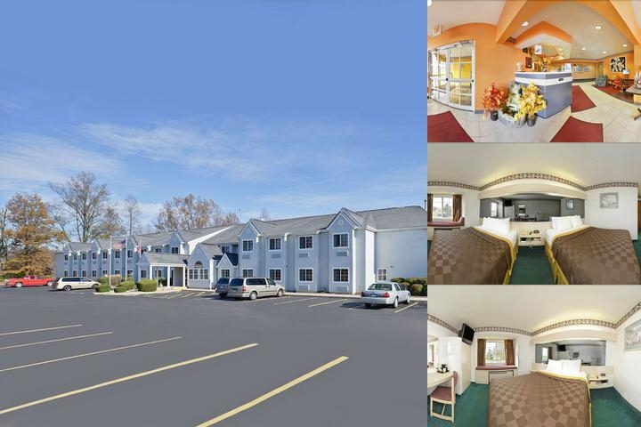 Americas Best Value Inn & Suites Sunbury / Delawar photo collage