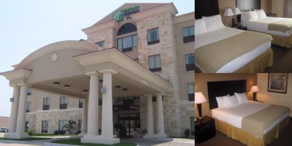 Holiday Inn Express Hotel & Suites Del Rio photo collage