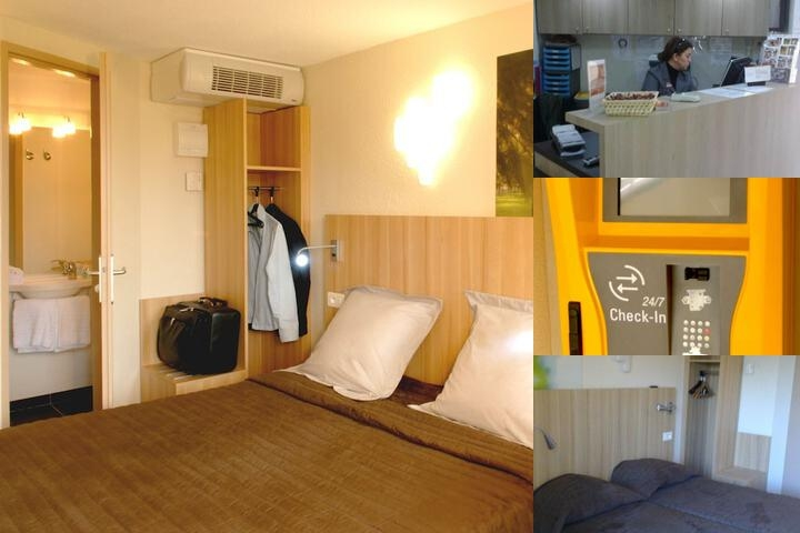 Hotel Balladins Bollene photo collage