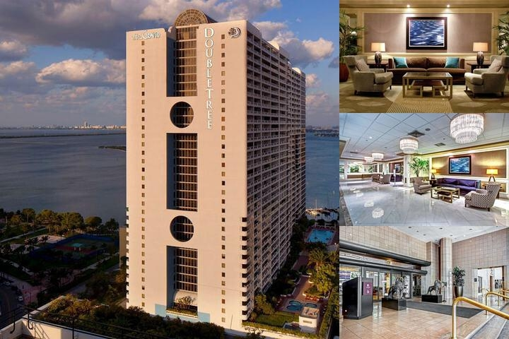 Doubletree by Hilton Grand Hotel Biscayne Bay photo collage