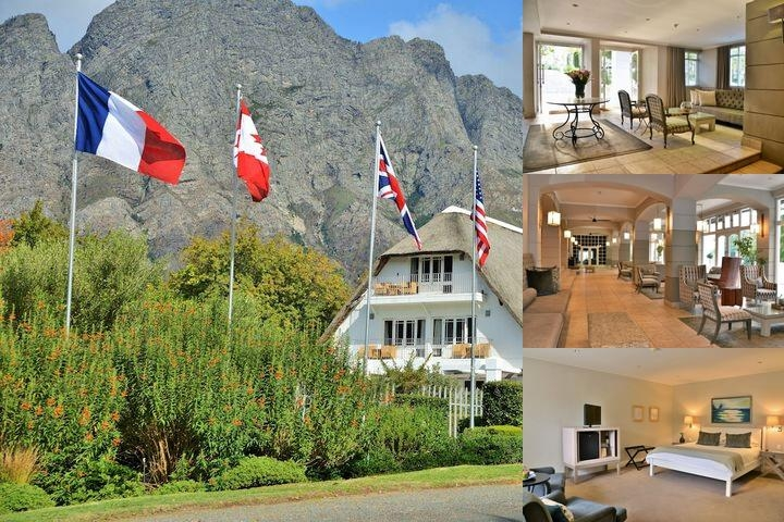 Le Franschhoek Hotel & Spa photo collage