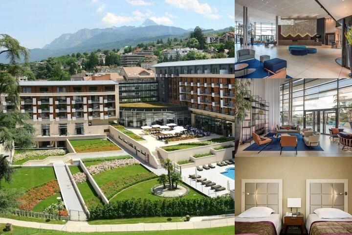 Hilton Evian Les Bains photo collage