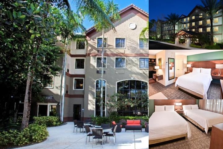 Staybridge Suites Plantation photo collage