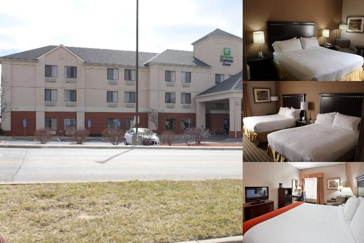 Holiday Inn Express Kansas City Liberty photo collage