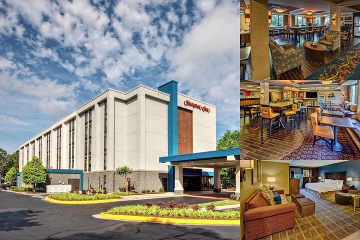 Hampton Inn Atlanta Peachtree Corners Norcross Photo Collage