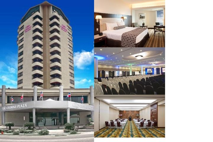 Crowne Plaza Santo Domingo photo collage