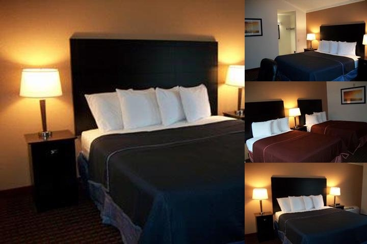 Americas Best Value Inn Metro Airport photo collage