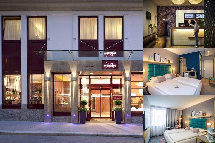 Hotel Mercure Wien Zentrum photo collage