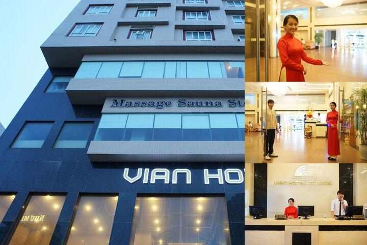 Vian Hotel photo collage