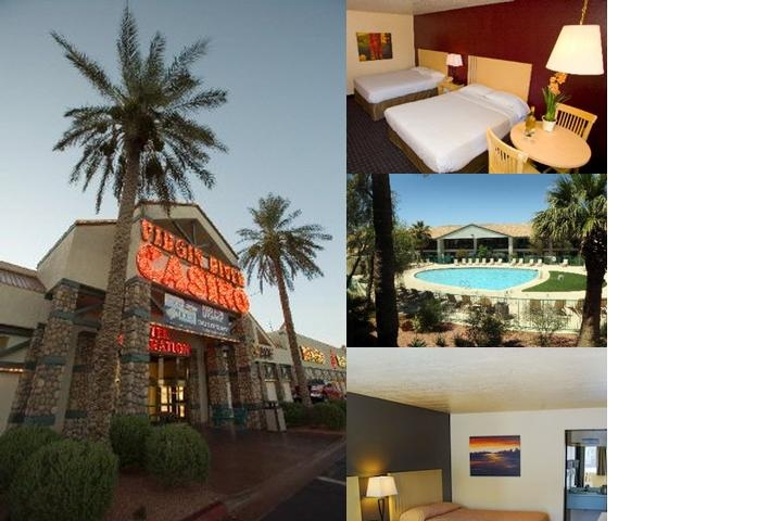 Virgin River Hotel and Casino photo collage