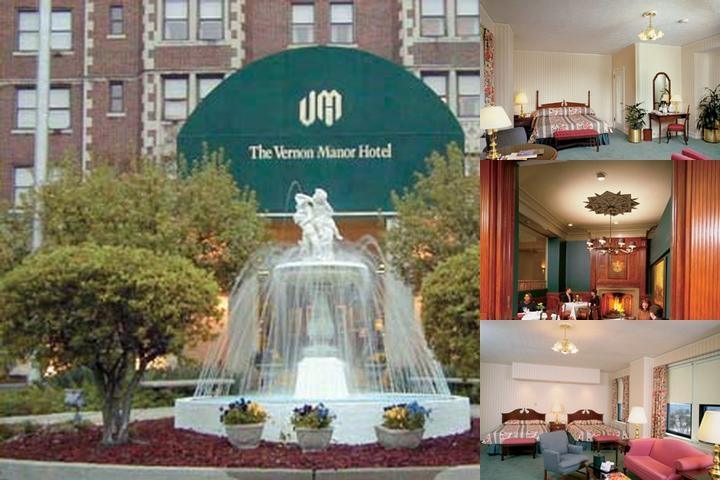 The Vernon Manor Hotel photo collage