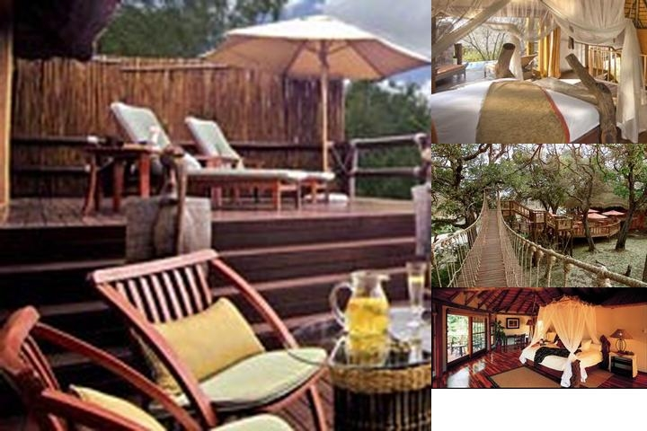 Ulusaba Private Game Reserve photo collage