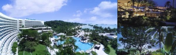 Shangri La's Rasa Sentosa Resort photo collage