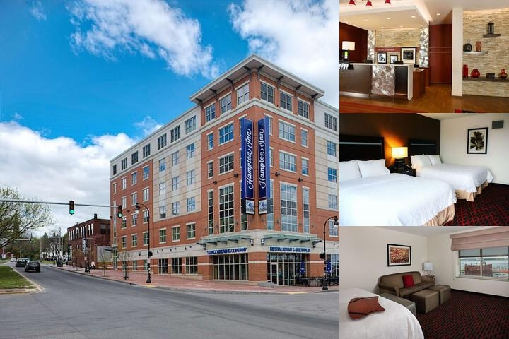 Hampton Inn Downtown Portland Waterfront photo collage
