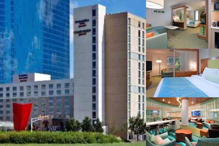 Springhill Suites by Marriott Indianapolis Downtow photo collage