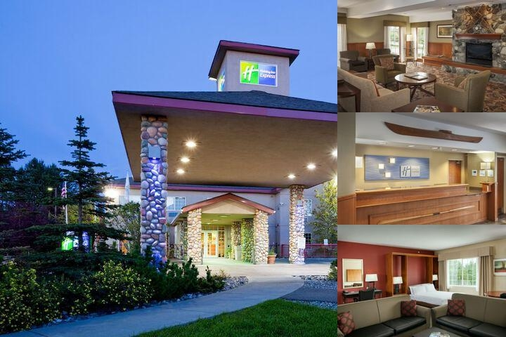 Holiday Inn Express Anchorage Airport photo collage