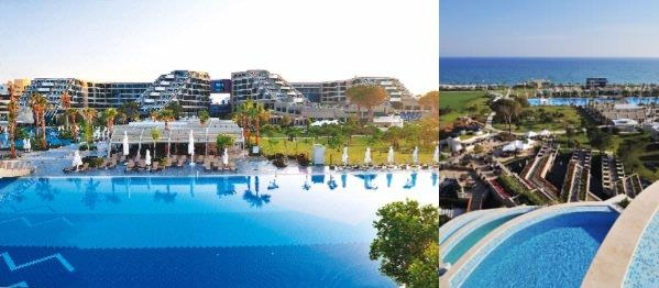 Susesi Luxury Resort photo collage