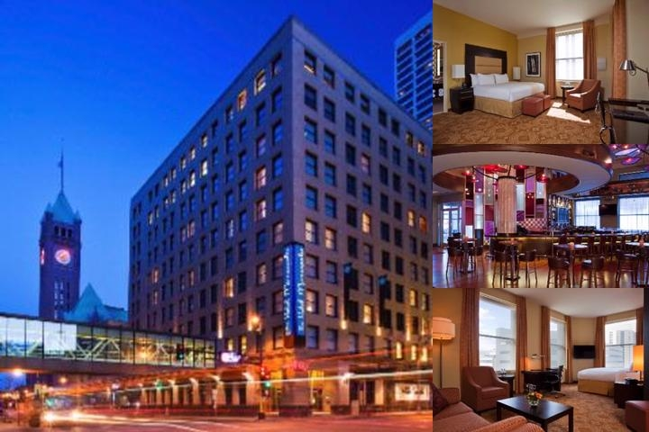 The Hotel Minneapolis Autograph Collection photo collage